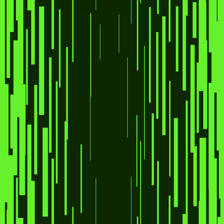 Green vertical lines Seamless pattern Graphic texture Superhero action frame Space tone elements Digital vector illustration Isolated object