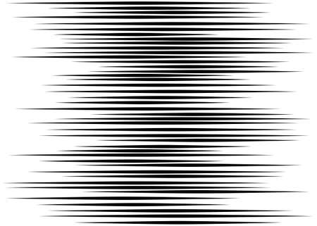 Amplitude lines Seamless pattern Graphic texture Black vector elements on white background Zigzag
