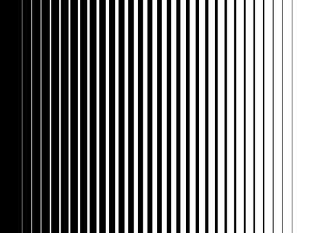 Halftone gradient lines Comic black vertical parallel stripes Fight design Manga or anime speed graphic screen tone Isolated object on white background vector illustration