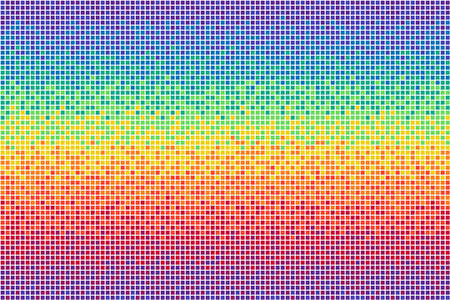 Pixel rainbow background Seamless pattern Vector illustration for website, card, poster 矢量图像