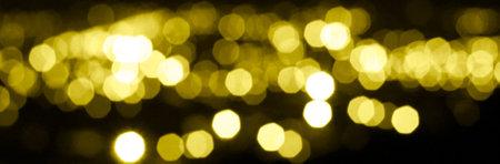 Illuminating yellow light background. Trendy color 2021. Light blurring baner