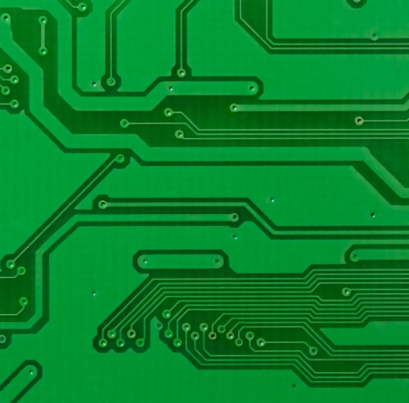 Printed circuit board. Abstract background photo
