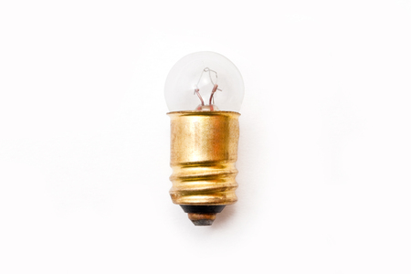 electric bulb: Electric bulb on the white background