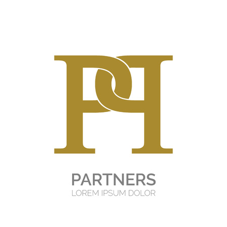 Creative double P letter vector logo design. PP Vector sign. Logotype symbols. Logo icon design