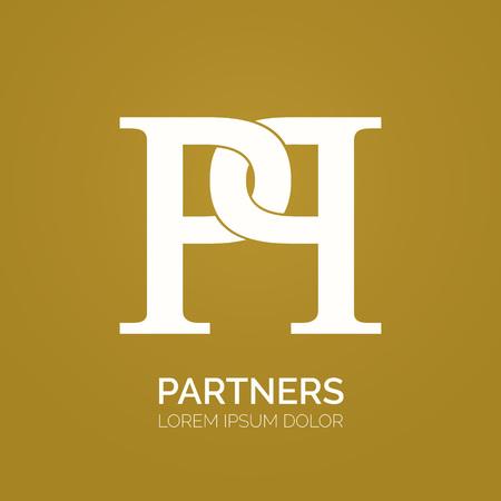 pp: Creative double P letter vector logo design. PP Vector sign. Logotype symbols. Logo icon design Illustration