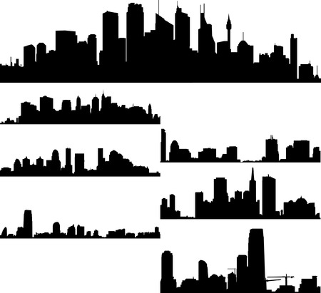 Cityscape Stock Vector - 4862099