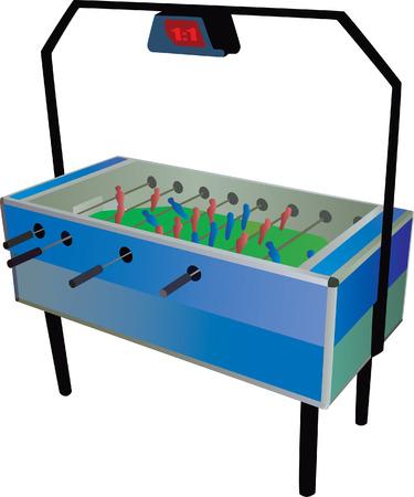 Table football Vector
