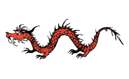 Old dragon Stock Vector - 5650326