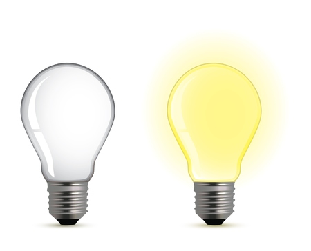 On/off light bulb Stock Vector - 6566978