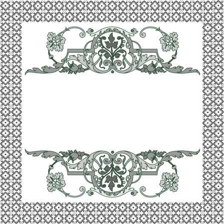 Frame patterns Vector