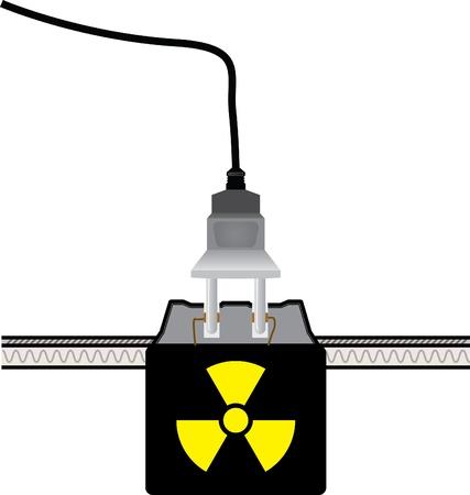 Plug and socket Stock Vector - 9611572