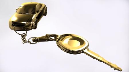 Key with pendant