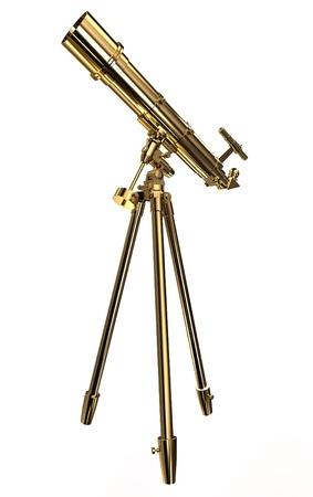 Gold telescope