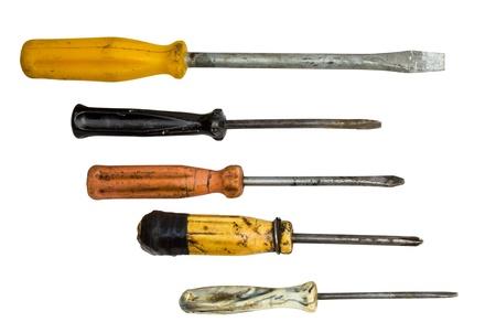 Set of screwdrivers