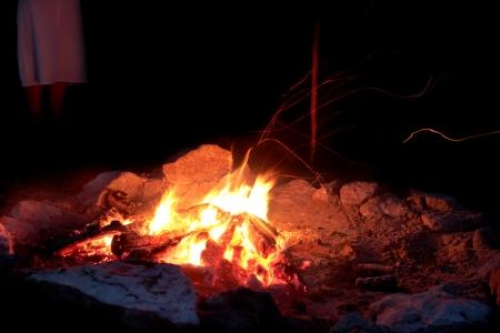 Embers - campfire