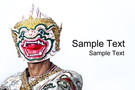 thai cultural show hanuman,ramayana story photo