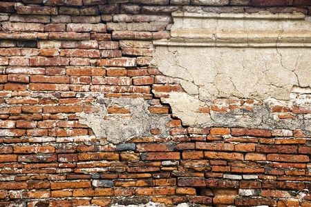 foundation problems: cracked brick wall