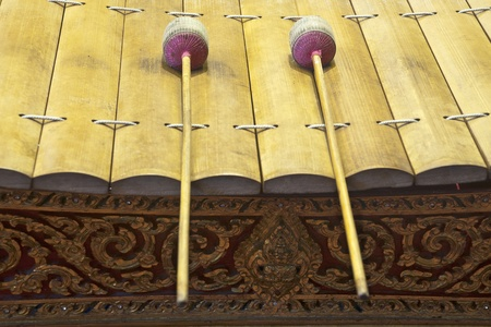 "tuneful: thailand xylophone that it called "" ranat """