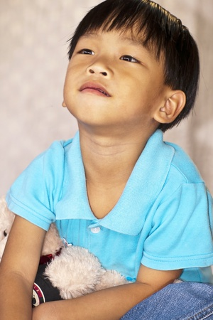 an handsome asian kid of thailand Stock Photo - 10957462