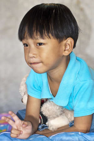an handsome asian kid of thailand Stock Photo - 10957399