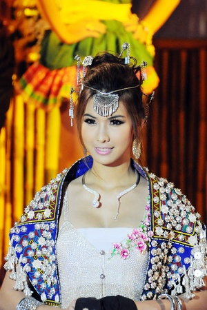 Silver Fashion Show OF Nan Province