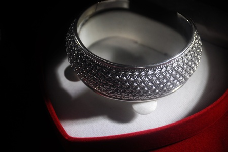 Jewelry made of silver. Stock Photo - 11387324