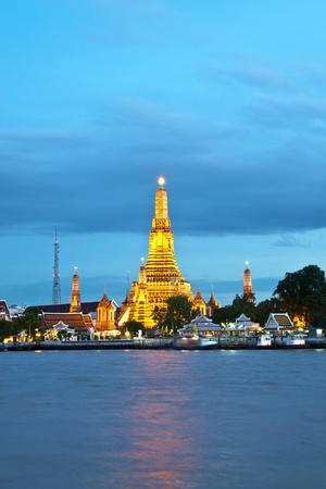 Wat Arun, Bangkok Thailand, Wat Arun is one of Bangkok photo