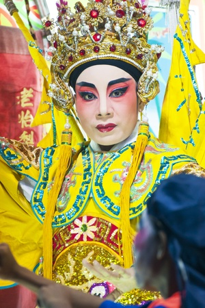 chinese opera: Chinese opera actor