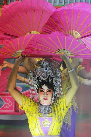 Chinese opera actor and Chinese Cultural Show