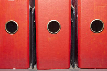 A4 ring binder files Stock Photo - 12742888