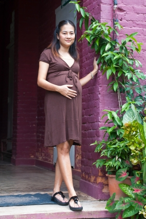untitled key: beautiful pregnant mother to be