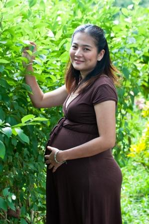 mother to be: bella madre incinta di essere