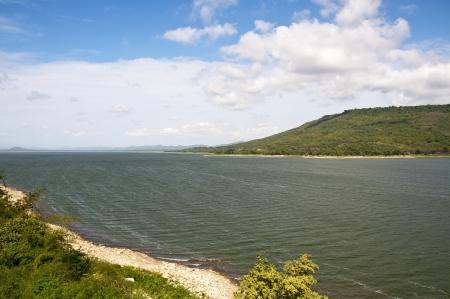 Lake Lam Takhong dam, Pak Chong district, Nakhon Ratchasima province photo