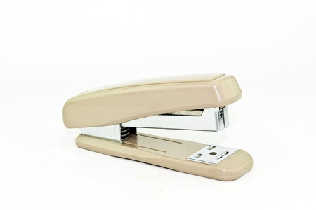 stapler isolated on a white background Stock Photo - 15691400