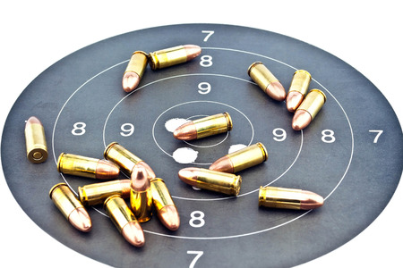 9mm ammo: 9mm Luger Ammunition on target