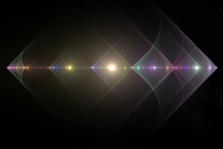 Diamond fractal background Stock Photo