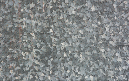Zinc plated background close up, textured backdrop concept Stock Photo