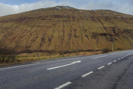 Scotland Country Road Stock fotó