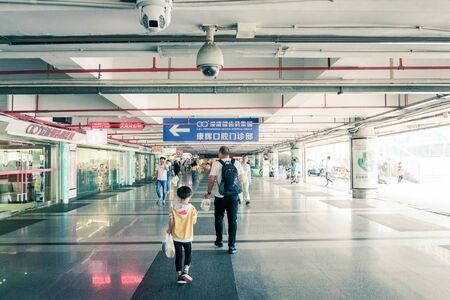 CCTV Security Cameras in Shenzhen, China - April 2018 Sajtókép