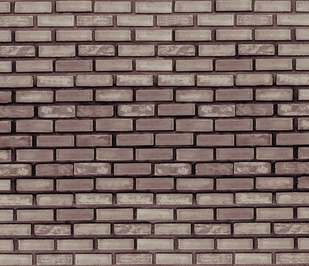 Grey brick wall for texture or background. Banco de Imagens