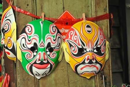 Chinese Traditional Opera  Mask Stock Photo - 10251571