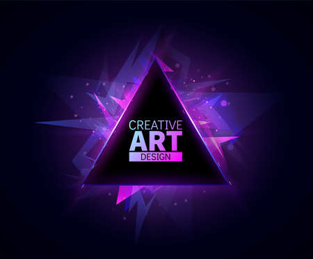 Abstract background template. Place for text. Vector