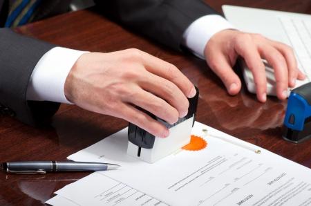 legal document: Firma del contrato