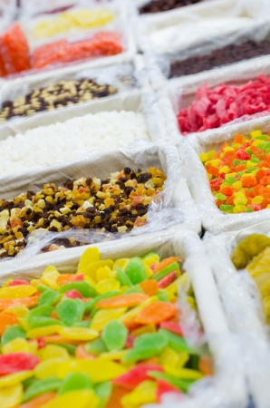 Close up image of fruits dry mix in supermarket Stock Photo - 16812105
