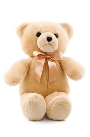 teddybear: cute teddy bear isolated on white background Stock Photo
