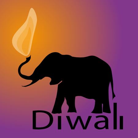 festival of lights: Diwali religious festival of lights in India