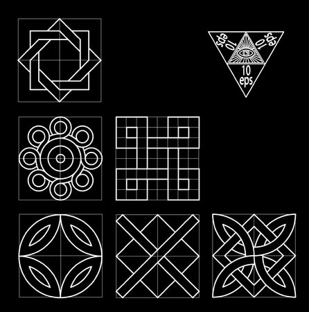 abstract element  イラスト・ベクター素材