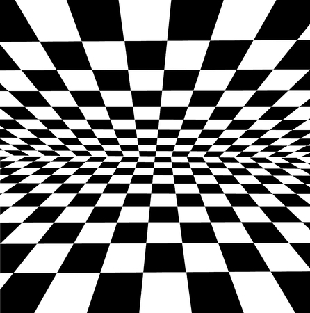 A white and black checkered background for design and works. Stock fotó - 95810339