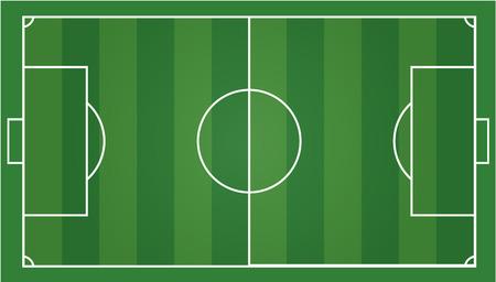 soccer field football field, gridiron .Vector illustration EPS 10