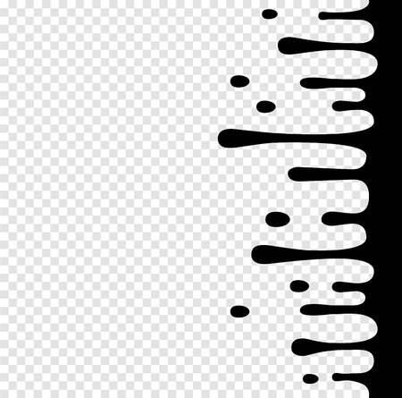 Splashing Black And White vector Irregular Rounded Lines Background for modern flat web site design.Vector Transition Abstract Wallpaper Pattern.